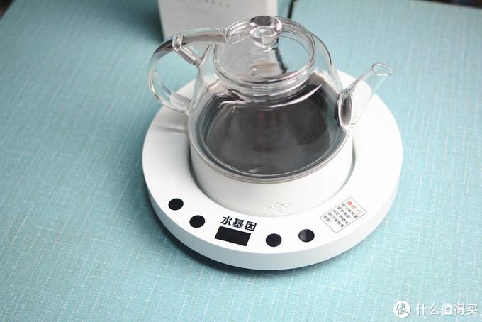 石墨烯加热,全玻璃壶身,水基因热水壶评测