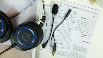 铁三角ATH-G1耳机图片外观(接口 线材 随身盒 耳塞套 包装)