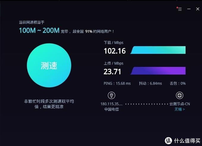 水星802.11 n+AX200的网速