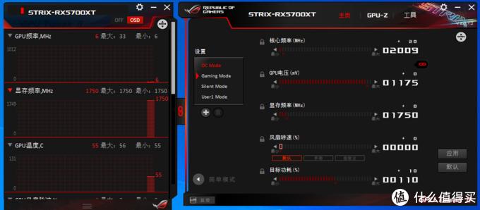 ROG Strix RX 5700XT O8G显卡开箱简测,最强用料的非公版?