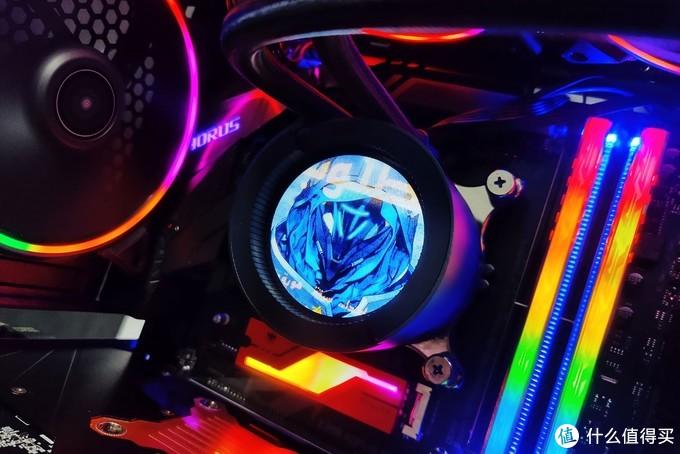 给你的水冷头定制画面,AORUS Liquid Cooler 240水冷尝鲜