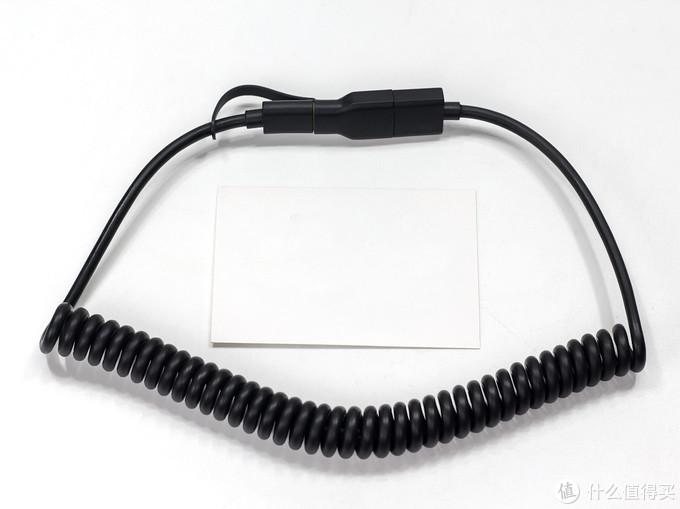 螺旋线身可长可短,moshi MFi USB-A to Lightning数据线开箱体验