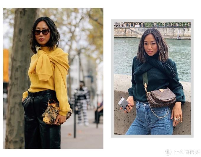 今秋针织衫最火的3种穿法,Jennie手把手交给你,又仙又高级!