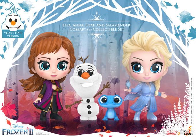 玩模总动员:HT推出《冰雪奇缘2》及《沉睡魔咒2》迷你人偶
