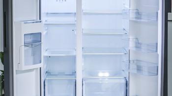 美的639L冰箱怎么样19分钟急速净味(对开门式 一级能耗 快速净味 独立制冰机 冷冻能力)