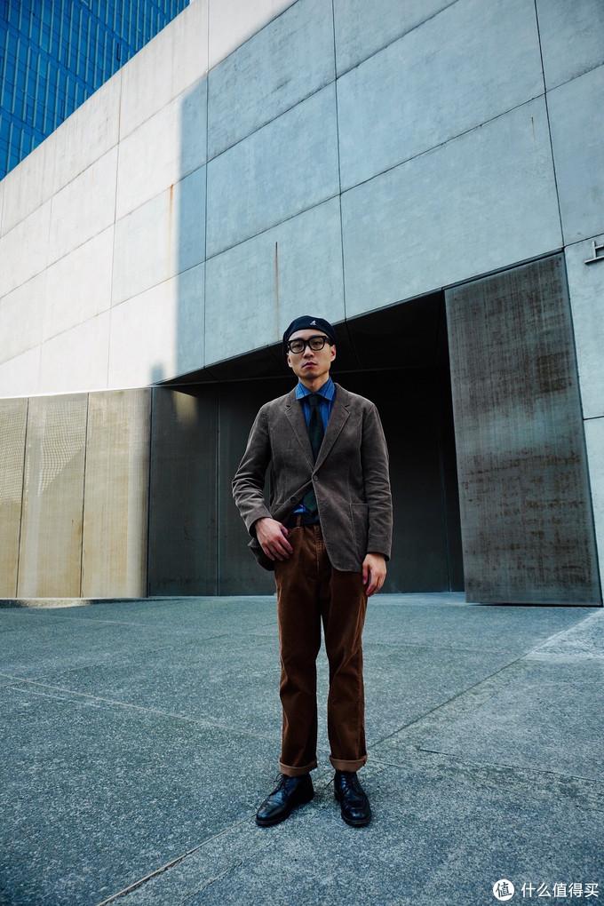 男生秋季穿搭指南   优衣库西装夹克也可以穿出高级感   今天穿什么