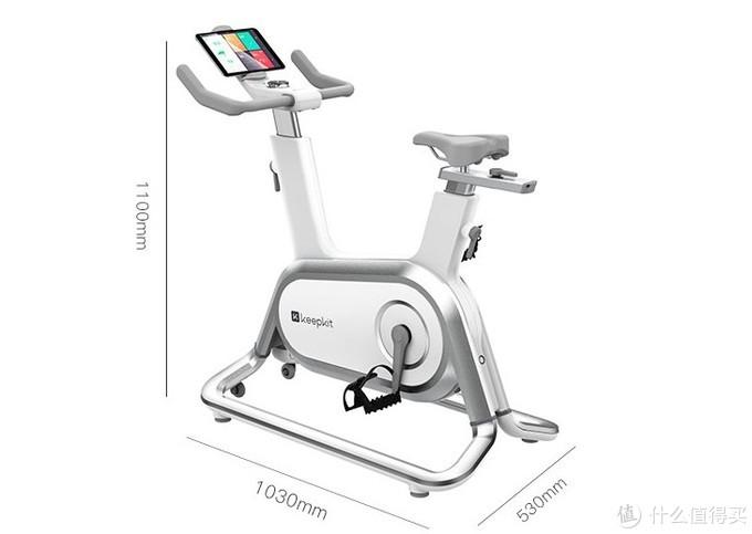 高颜值智控燃脂:Keep C1 智能动感单车 开启预售