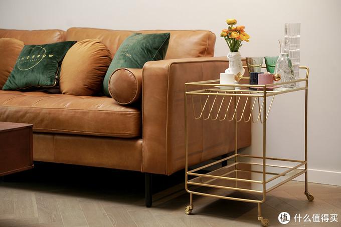 △小推车:集木室务所/沙发:EVITA HOME