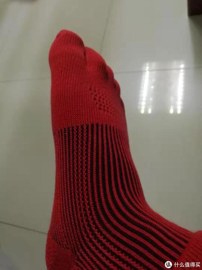 爱燃烧发热3D五指袜评测