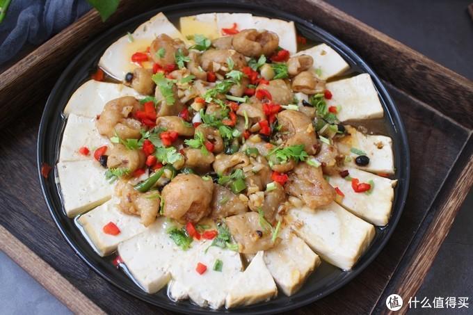 豆腐和这食材真是天生一对,蒸15分钟出锅,油润鲜香,一盘不够吃