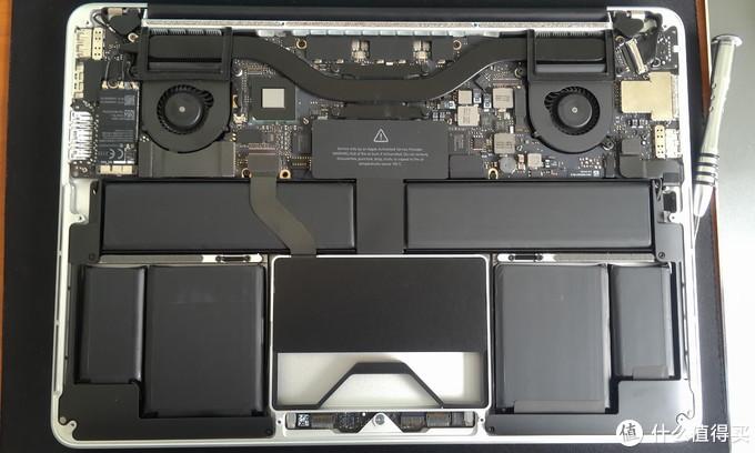 13寸Macbook Pro拆解