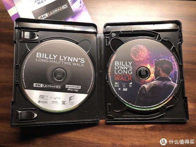 《比利林恩的中场战事》4k uhd蓝光碟
