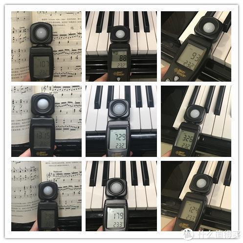 守护琴童视力,非专业对比体验明基PianoLight钢琴灯