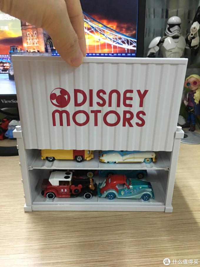 闺女的第一份生日礼:TOMY迪士尼运输卡车821465