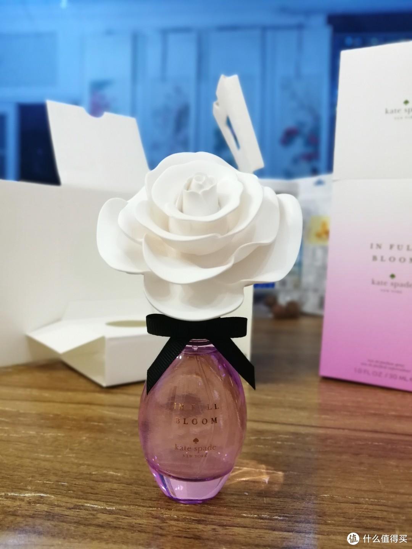 盛开的气味——【轻众测】Kate Spade 凯特丝蓓 In Full Bloom 女士香水30ml持久花香
