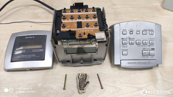 论坛首晒-十多年前的YLJ-SONY ICF-C113V数字调谐钟控收音机