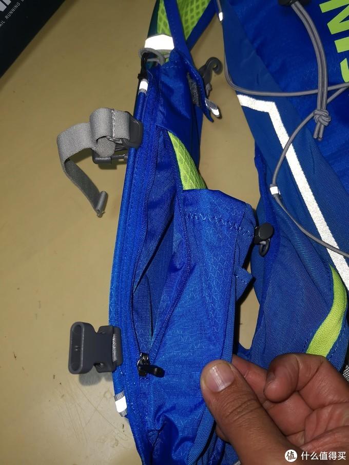 简单开箱测试奥尼捷10升越野跑背包