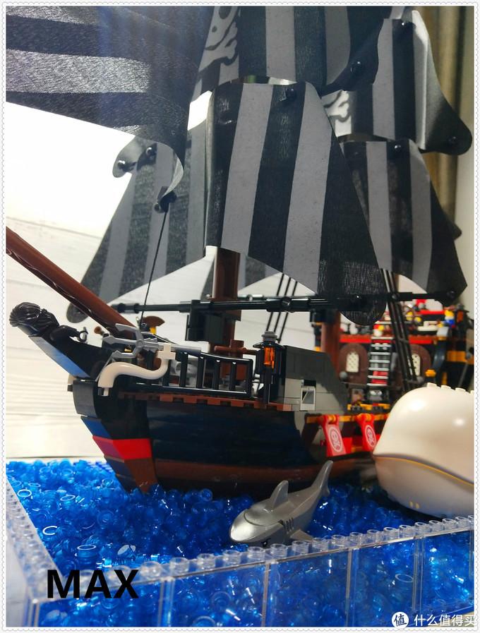 【虚测评】哲高积木QL1801海盗船之骷髅冒险号