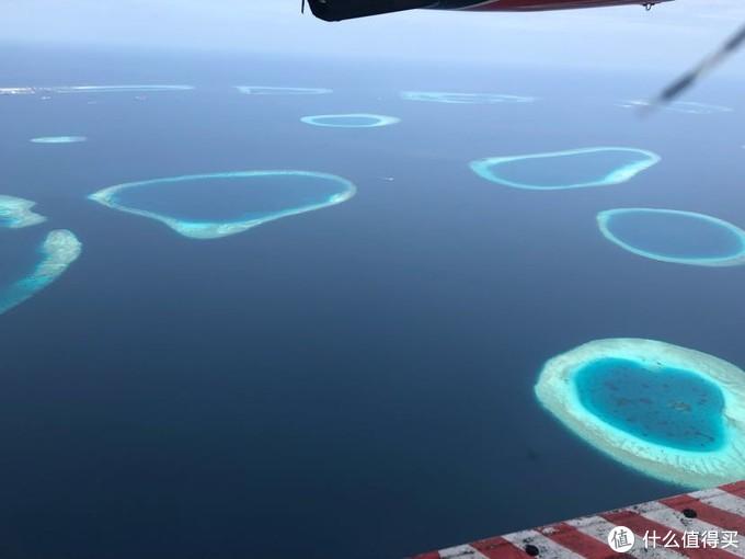 一些无人珊瑚岛屿,从高空看真的好看