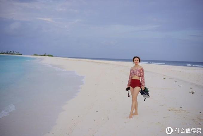超长的拖尾沙滩,真的非常长,对于暴晒的马代来说,走完它简直是个挑战