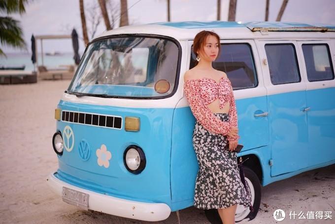 一台网红VW Bus,可爱又清新的涂装,简直拍照神器
