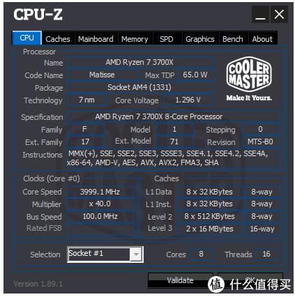3700X 4GHz