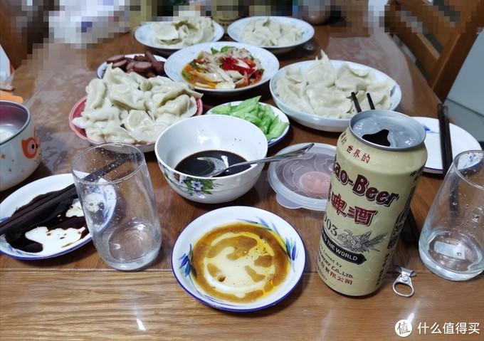 饺子就酒,越喝越有啊