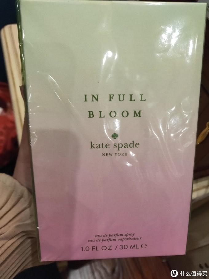 高颜值少女花香--Kate Spade花花世界女士香水测评