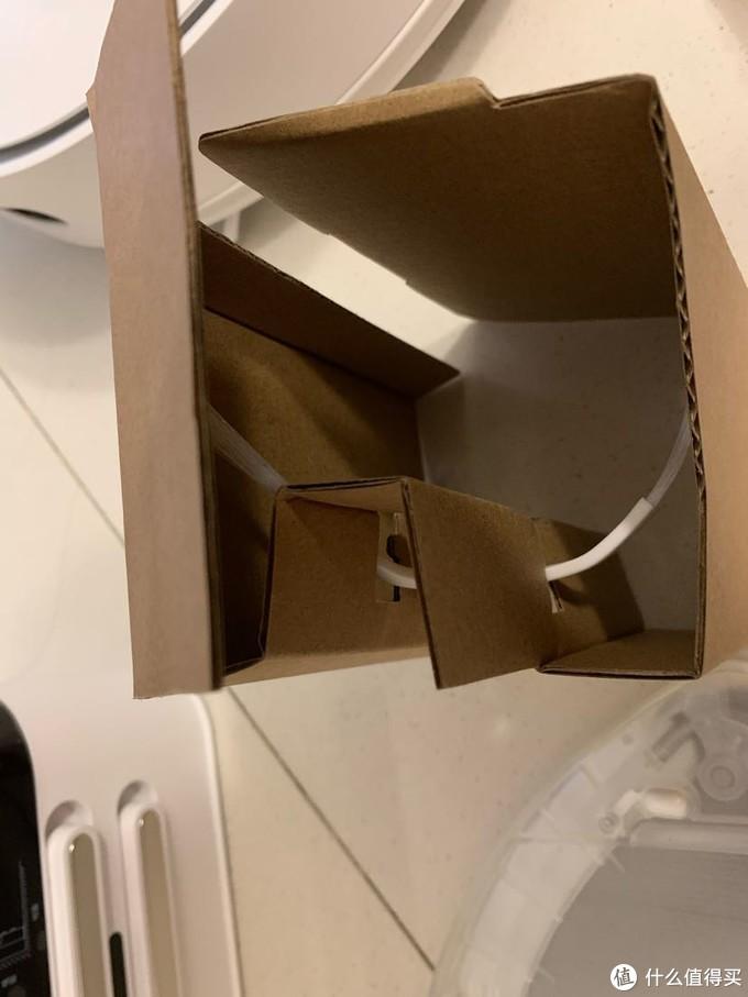 一个大盒子,里面仅装了个边刷