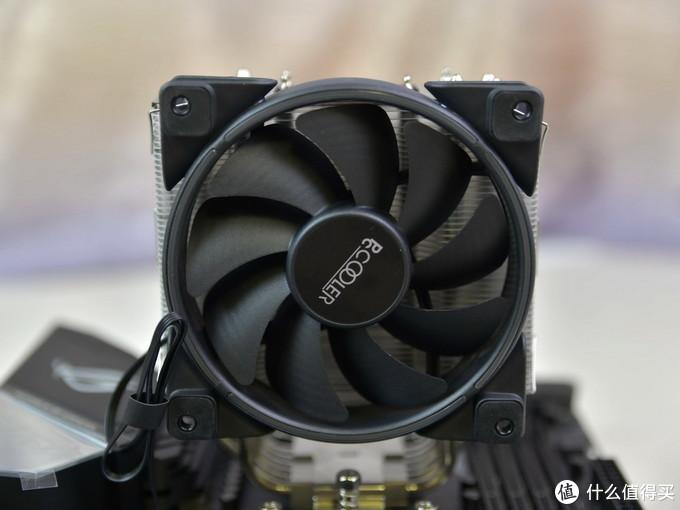 镜面铜底搭配6根镀镍大热管,强效散热,超频三东海风云GI-R66U风冷散热器体验