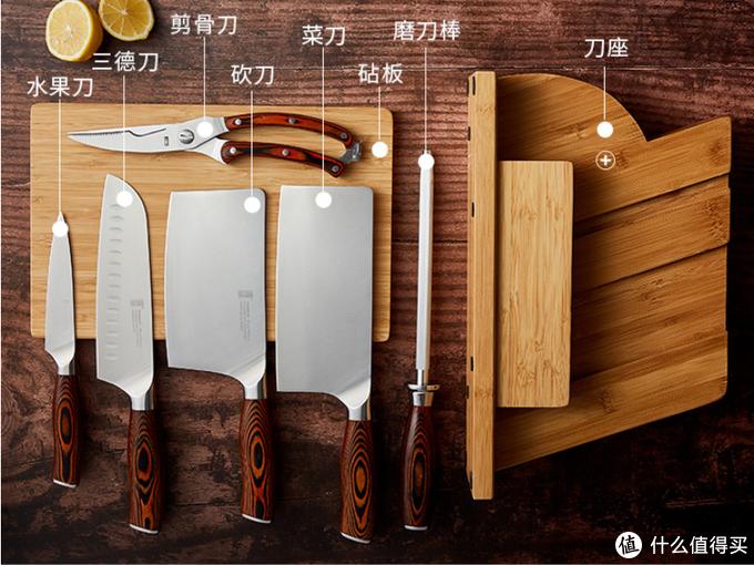 双十一要剁手,怎能不买把快刀?拓,刃你所享的厨刀全系列价格解析