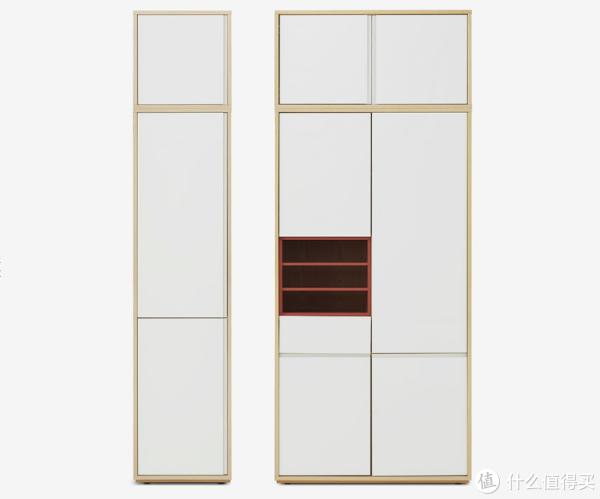 青山周平老师设计的板材衣柜