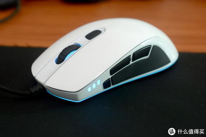 改良操控性,QPAD DX-30更换白色脚贴