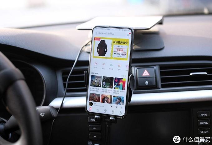 手机支架里的iPhone,卡斐乐车载支架测评