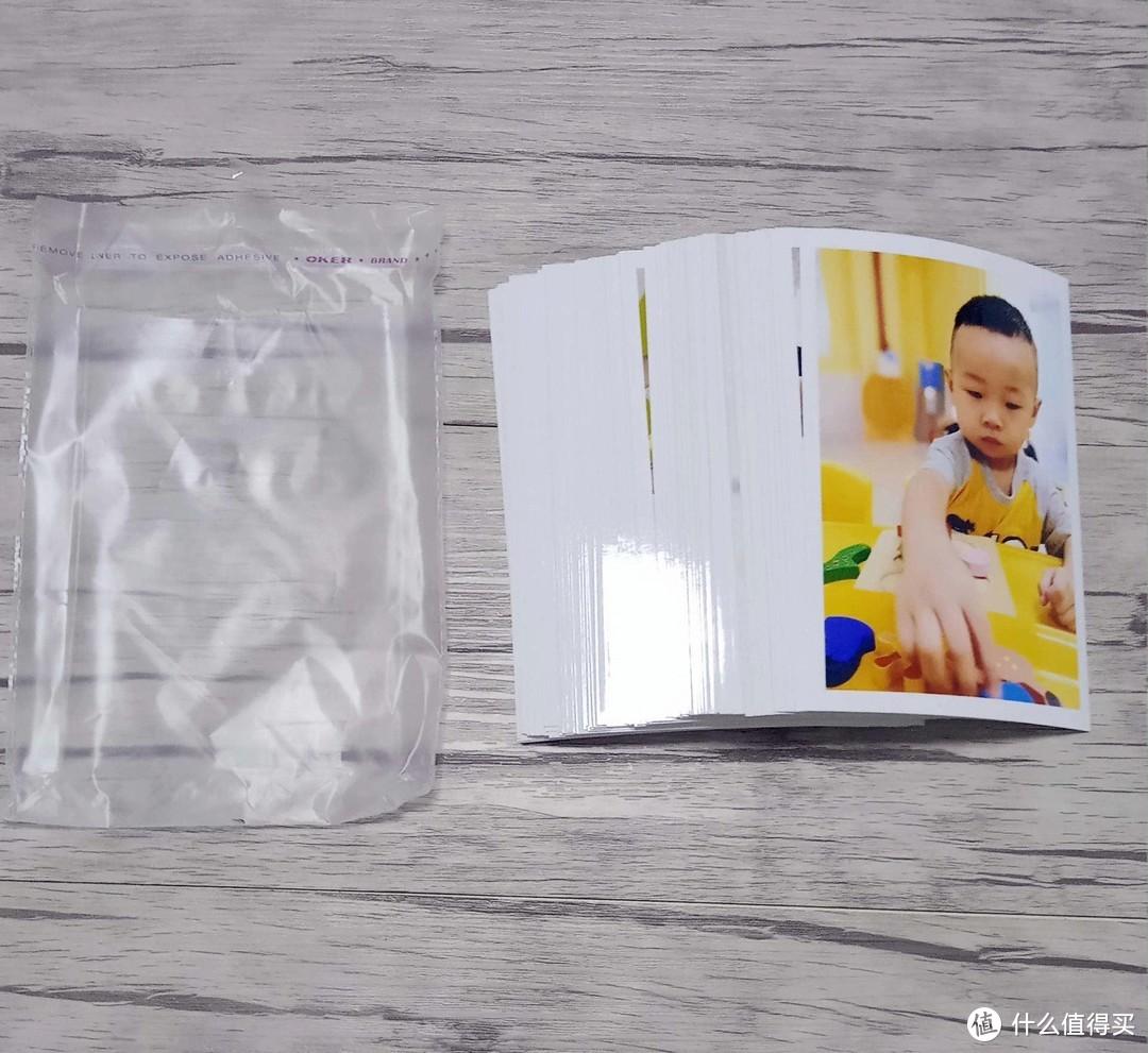 5元洗50张6寸光面照片 开箱体验