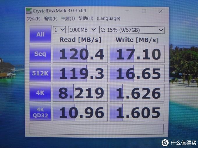 是的,没看错,这读写速度基本和现在USB3.0的U盘差不多。