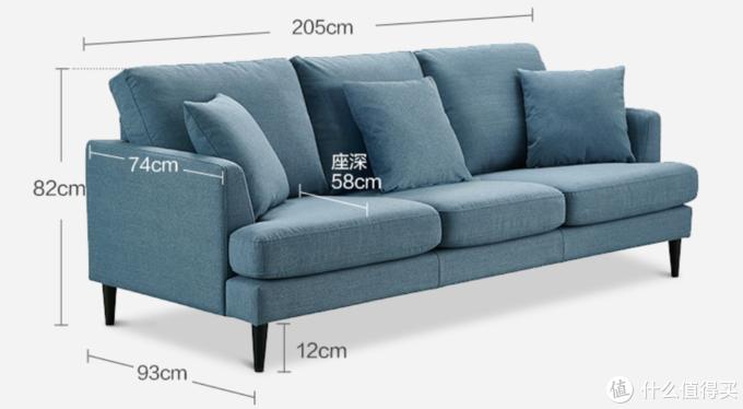 挑来选去挑花了眼?我眼中的高性价比小户型沙发推荐!纯线上选购。