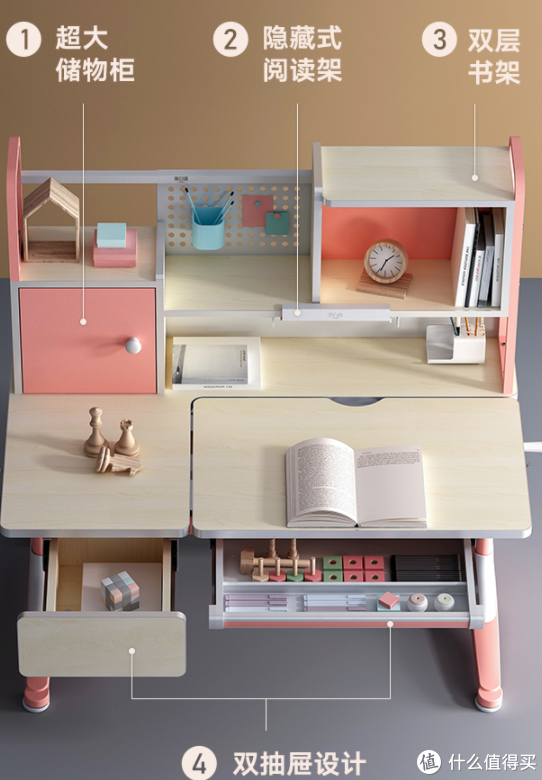 收纳空间让孩子自己整理,养成良好的习惯