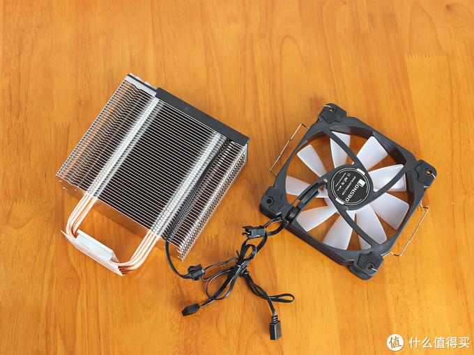 向光污染低头,升级体验乔思伯CR-1000GT风冷散热和机箱