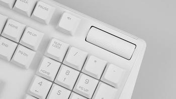 AW510K机械键盘评测体验怎么样(尺寸|矮红轴|RGB背光|AWCC驱动|自定义编程)