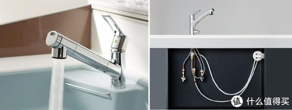 搭载了手持淋浴和整流、净水的充实功能。