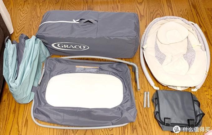 GRACO折叠婴儿床亲测了两年了