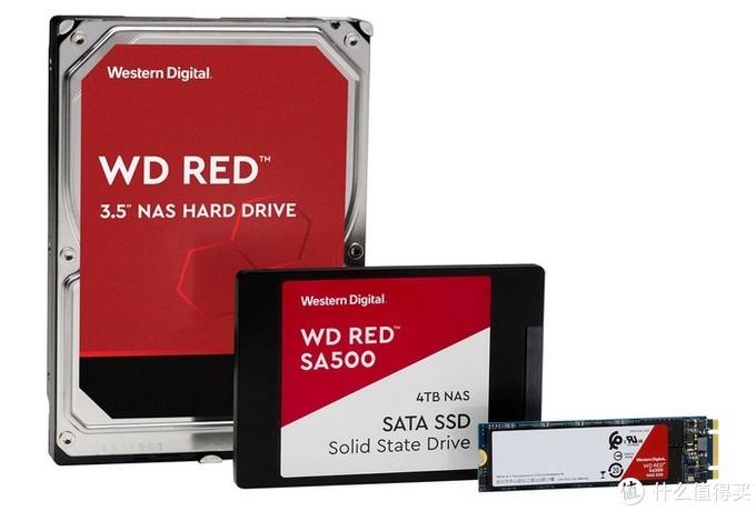 """NAS又有新""""弹夹""""了:WD 西数 发布 Red SA500 """"红盘"""" 系列 79.99美元(约565元)起"""