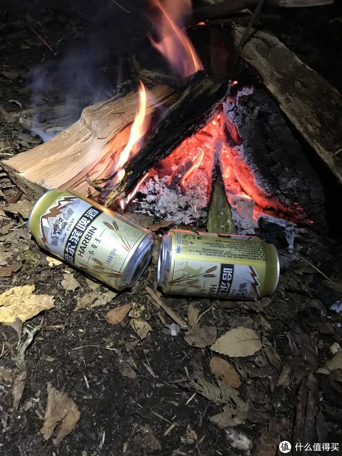 用旺仔和隔壁交换的啤酒~