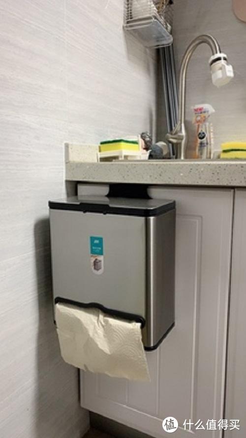 家中最有潜力的储物宝地,厨房悬挂式垃圾桶使用感受