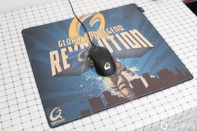 关于CD-45 GAL鼠标垫半个月的使用体验:我真是嗨到不行啊