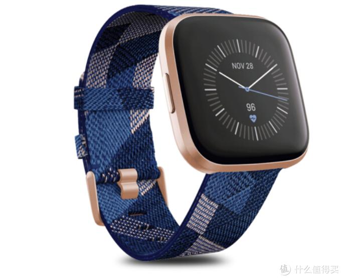 5天续航、专业运动监测:Fitbit Versa 2 智能运动手表上架开售