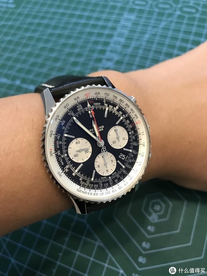 人生第一块百年灵-航空计时1 B01计时腕表43