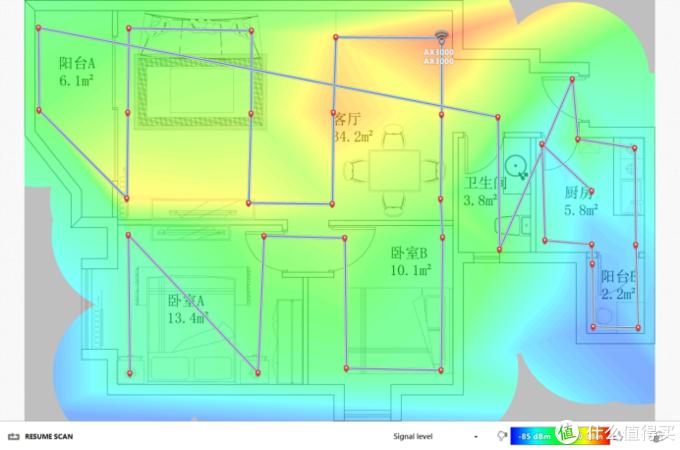 AX3000信号覆盖图