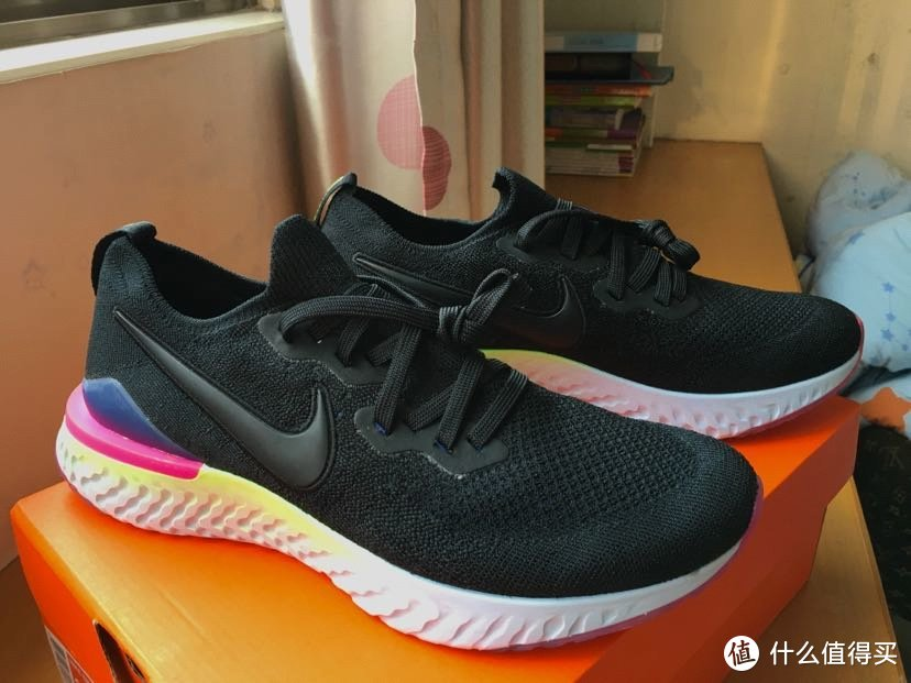 耐克/Nike epic react flyknit 2 开箱